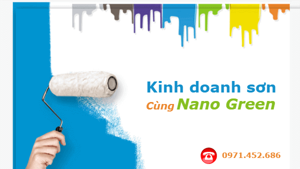 Kinh doanh sơn nước cùng Nano Green - SonnanoGreen.com
