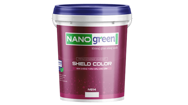 Sơn chống thấm màu Shield Color - SonnanoGreen.com