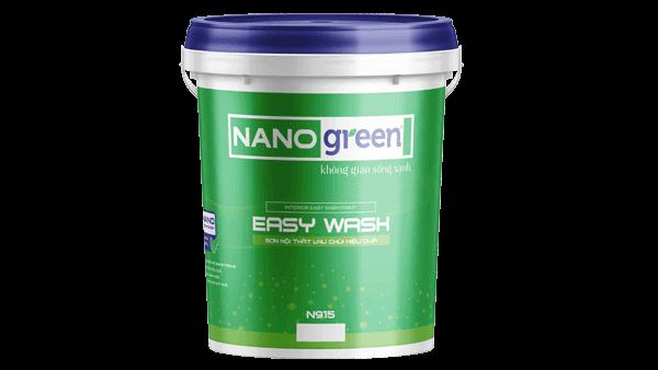Sơn nội thất lau chùi hiệu quả Easy Wash - SonnanoGreen.com