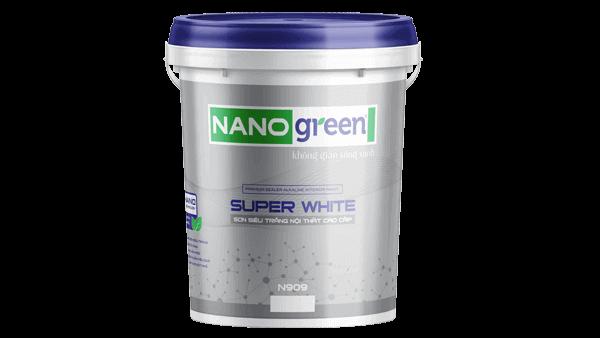 Sơn siêu trắng nội thất Super White - SonnanoGreen.com