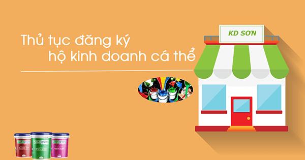 Thủ tục mở cửa hàng kinh doanh Sơn theo mô hình hộ kinh doanh