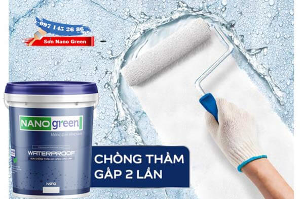 Cách pha sơn chống thấm Nano Green -Waterproof - SonNanoGreen.com
