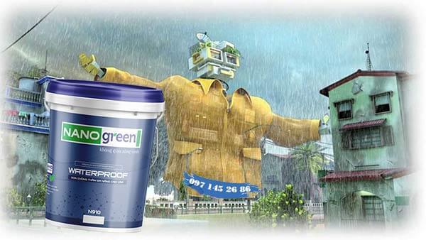 Cách sơn chống thấm ngoài trời - Vật liệu chống thấm tốt nhất - Sơn Nano Green