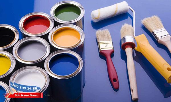 Chọn sơn dựa vào độ bóng - Sơn Nano Green