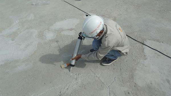 Nên chống thấm theo chiều thuận - SonNanoGreen.com