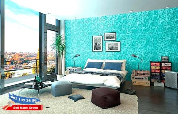 Phối màu sơn nhà với tông màu lạnh - SonNanoGreen.com