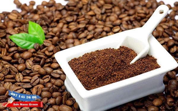 Hạt hoặc bã Cafe cũng khử mùi sơn nhà hiệu quả - SonNanoGreen.com