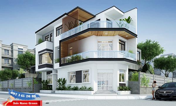 Màu sơn nhà cho người mệnh Kim - Sơn Nano Green
