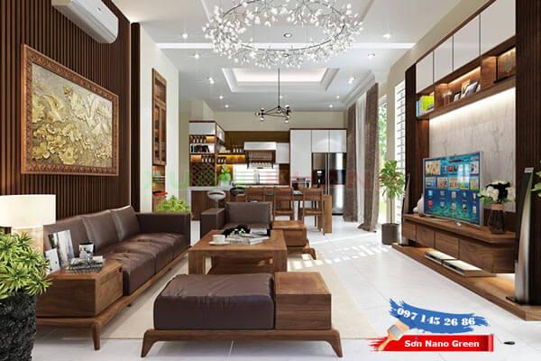 Màu sơn trong nhà đẹp - Màu sơn nội thất - Sơn Nano Green