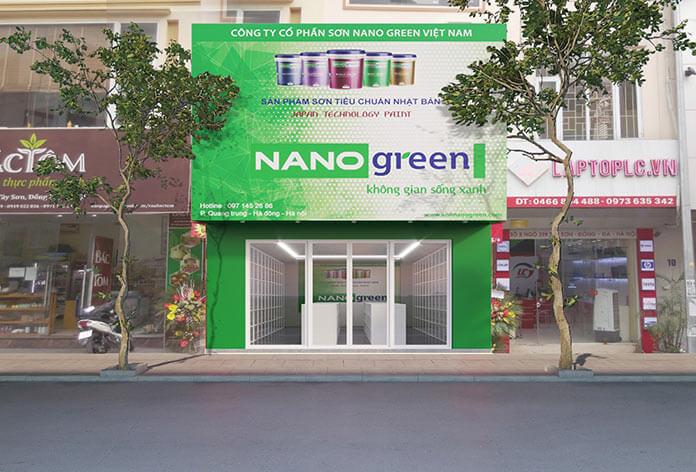 Đại Lý Sơn Nano Green - Showroom