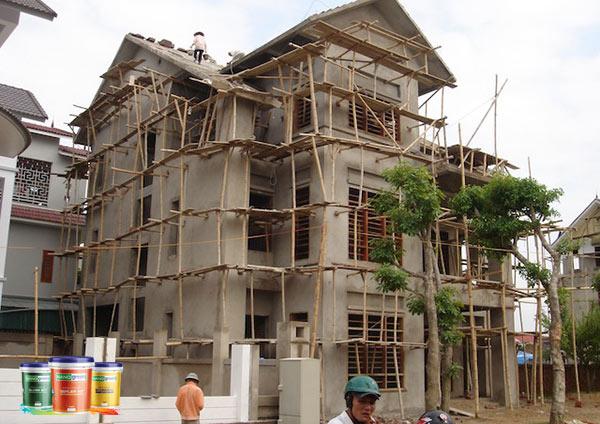 Đánh giá công trình xây dựng cần sơn sửa trước khi thi công
