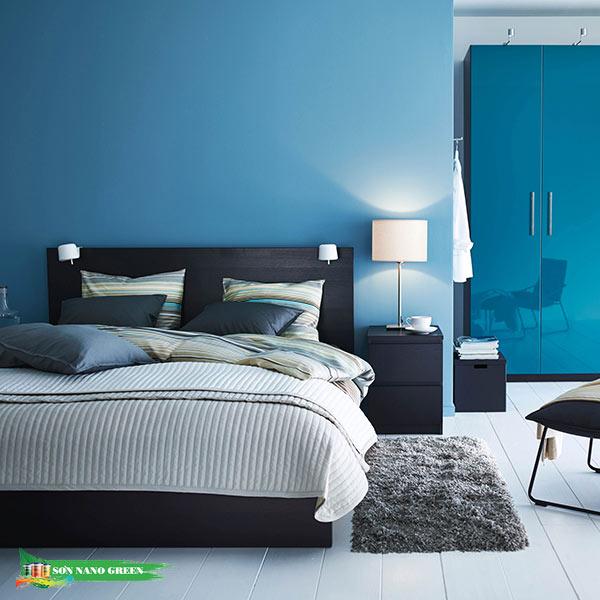 Màu sơn phòng ngủ phù hợp với tuổi Ất Mão