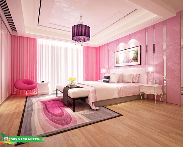 Màu sơn phòng ngủ hợp với tuổi Mậu Ngọ